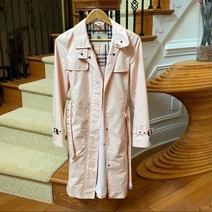 Burberry Tess trench coat in pink